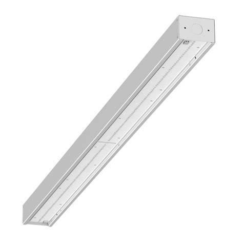 "Visioneering LCOM - LED Commercial Strip - 96"" - 14000 Lumen - 4000K Cool White - 347V - White Body"