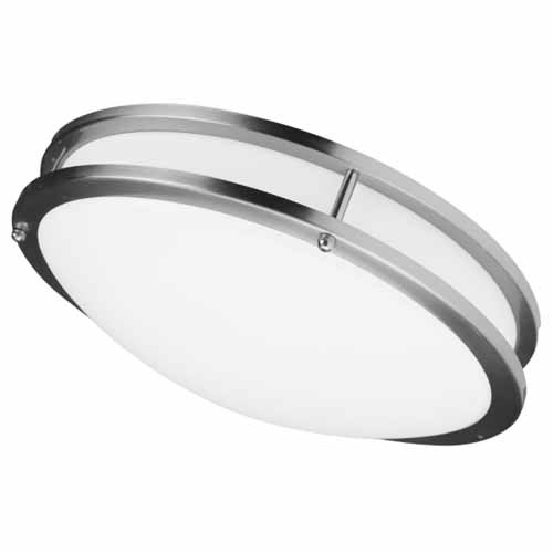 A&A LED Ceiling Drum Fixture - 18W 120VAC - 1260Lumen 4100K Cool White - Dimmable - Engery Star Listed