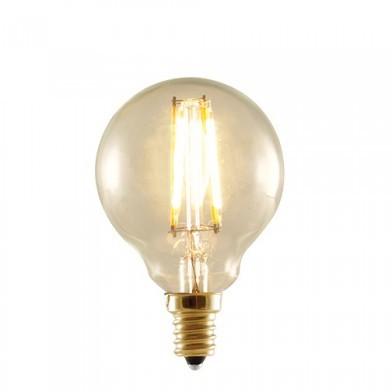 Bulbrite 776506 - 2W LED G16 2200K Filament Nostalgic - E12 Base - Equals 25 Watt Incandescent - LED2G16/22K/FIL-NOS - 10 Packs