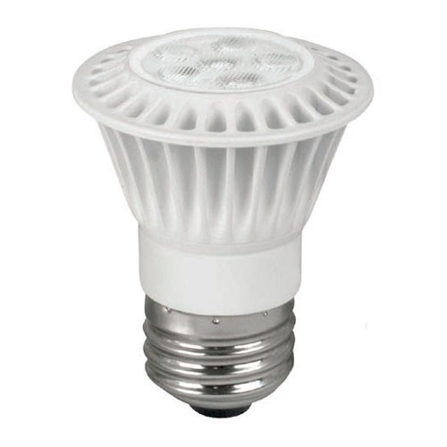 TCP LED7P1627KFL - LED PAR16 - 120V - 7W - 500 Lumens - 2700K Warm White - 80 CRI - 50W Incandescent Equal - 25,000 Life Hours - 40 Deg. Beam Angle - Flood Dimmable - 12 Packs