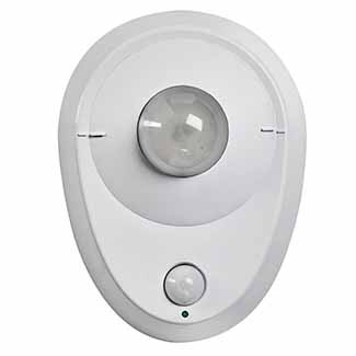 Leviton LED Ceiling Occupancy Sensor Lampholder with 8.7W LED Module - 120VAC 60Hz - White
