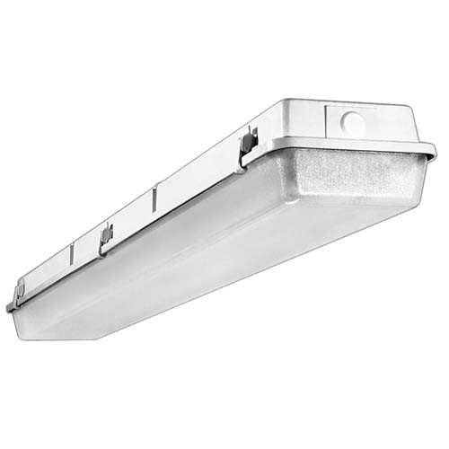 "Visioneering LSVA - LED Sentry Vapor A - 48"" - 88Watt 10,000 Lumen - 4000K Cool White - 120-277V - White Housing"