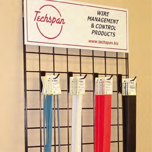 "Techspan MHSP-1/4-2-IIL-NC - K-SPEC® Thin-Wall Heat Shrink Tubing - 1/4""ID x 4FT - Cross-Link Polyolefin - Red - 100 Packs"