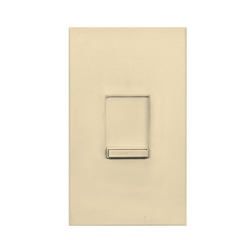Lutron N-1003P-IV - Nova dimmers - Incandescent/halogen Preset dimmers - small controls - Single-pole/3-Way - 120 V - 1000 W - Ivory