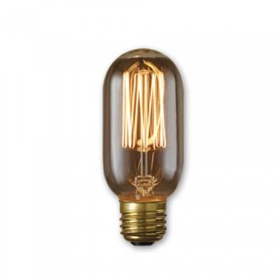 Bulbrite 134015 - 40 Watt - Antique Bulb - T14 Clear - 4.25 Inch Long - Medium E26 Base - Thread Filament - 10 Packs