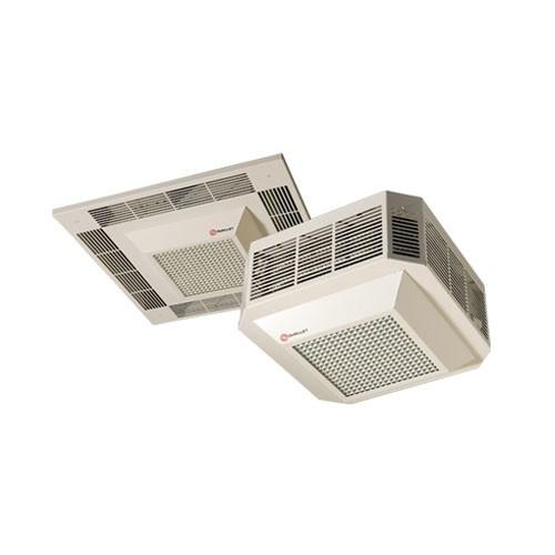 OUELLET ODSR05030AM - Ceiling Fan Heater - 5000W - 240V - 3-phase - 310 CFM - 1/50 HP - 1550 RPM - Almond