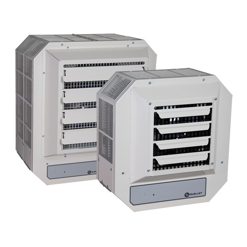 OUELLET OHV05000AM - Commercial Unit Heater -  240/208 Volts -  5000/3750 Watts - 1/50 HP - 1/3 Phase - Almond