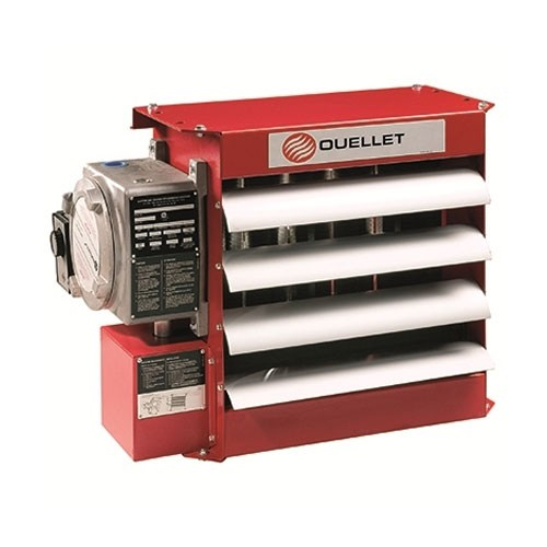 OUELLET OHX-HCU1 - Heresite P-413 Baked Phenolic Coating Of Heat Exchanger Core - Louvers - Fan Blade - Fan Guard - 5 To 10kW Units