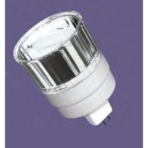 Overdrive 180 - 9W - 12V - MR16 Reflector - CFL GU5.3 Base - 35W Incandescent Equivalent - Natural Daylight White 5000K