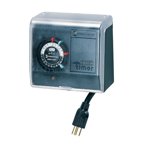 Intermatic P1101 - Two On/Off Settings - Large Plastic Enclosure - 15 Amps Outdoor Pool Timer