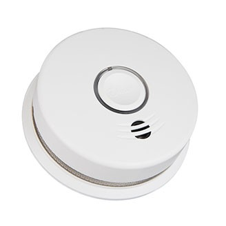 Wire-Free Interconnected Battery Powered Combination Smoke and Carbon Monoxide Alarm P4010DCSCO-W