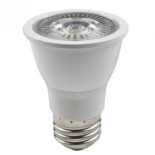 Luminiz - 8W - DIMMABLE LED - PAR16 - 120V E26 Medium BASE - FLOOD - 2700K Warm White - Replacing 50W Halogen HR Bulb