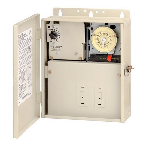 Intermatic PF1112T - Pool-Spa Freeze Protection Control - Single Timer - Beige Finish - 240 Volt