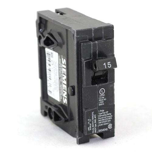 Siemens Q115 - Plug In Circuit Breaker - 1-Pole - 120/240VAC - 15 Amp - Thermal Magnetic Type