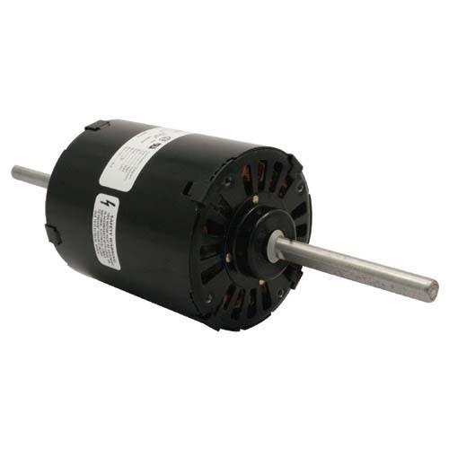 ROTOM R2-R462 - 3.3'' Heating Motor - 2 Side Studs - 1/17HP - 115V -0.9/1A - 3/1660 SPD/RPM - CW Rotation - Double Shaft