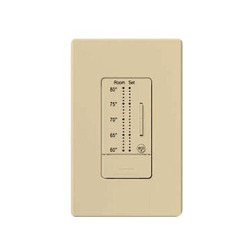 Lutron RKD-WST-F-IV - Comfort Controls - SeeTemp TM Wall Display - Color Change Kit (°F) - Designer - Ivory