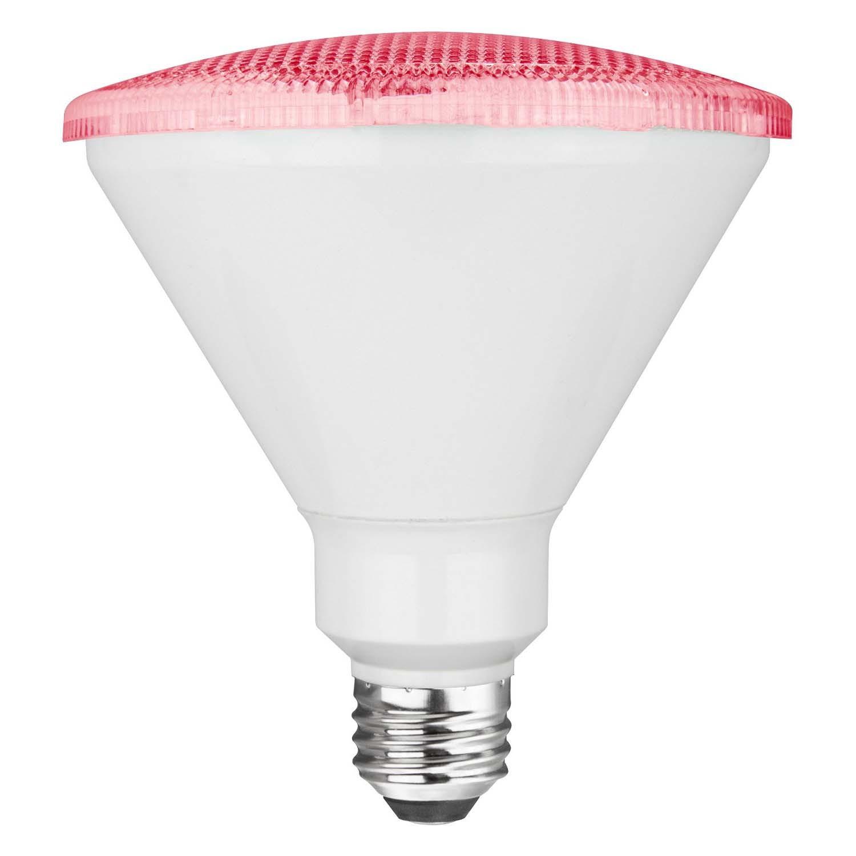 TCP RLP3817WP 17W LED Colored PAR38 - 90 Watt Equivalent PAR Flood Light - PINK
