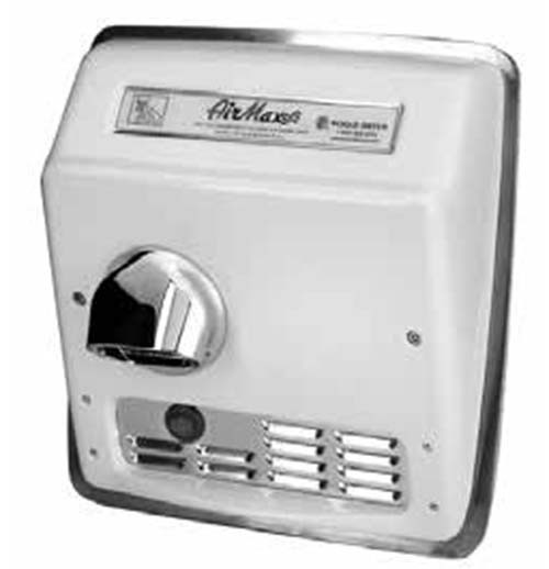 AirMax DXRM5-Q973 - Hand Dryer - 115V - Stainless Steel Brushed - The High Speed and Heavy Duty Hand Dryers