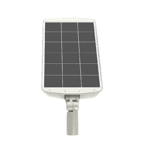 RP-SAL-8W-50K-SF-GY-G1 - 8W LED Solar Area Light - 1600 Lumens - 5000K Natural Light - Replace to 70W HID - 75+ CRI