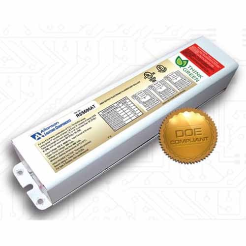 Allanson RSS696AT-208-347V - For Use with 4-6 x T12HO and T8HO and Slimline Lamps - Series Electronic Sign Ballasts