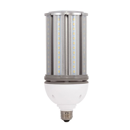 Satco S29392 - High Lumen Industrial/Commercial LED Lamps - 36W - 100-277V - 5000K Daylight - 4800 Lumens - Medium base - 300 Deg Beam Spread - White Finish - Non-Dimmable