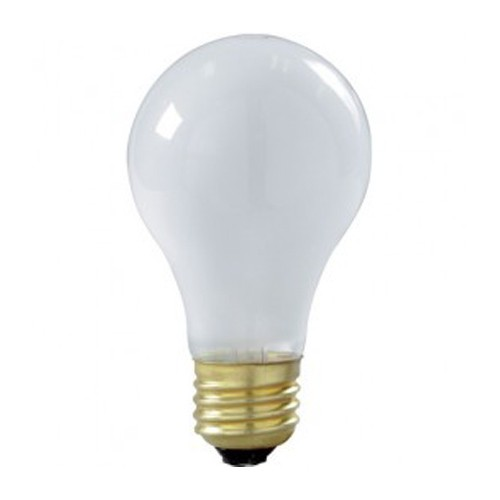 Satco S3936 - 100W - 130V - A23 Incandescent - Medium Base - Frost - 1030 Lumens - Dimmable - 6 Packs