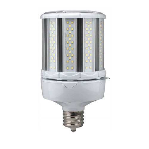 Satco S39675 - High-Pro Industrial/Commercial LED Lamps - 80W - 100-277V - 4000K Cool White - 11200 Lumens - Mogul Extended Base - 300 Deg Beam Spread - White Finish - Non-Dimmable