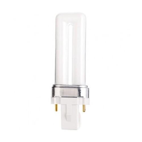 Satco S8304 - 7W - T4 Pin-Based Compact Fluorescent - G23 Base - 400 Lumens - 4100K - 82 CRI - 50 Packs