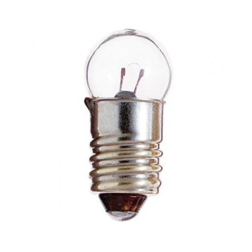 Satco S7020 - 1.47W - 4.9V - G4 1/2 Miniature - Miniature Screw Base - C-2R Filament - 1 Lumens - 10 Packs