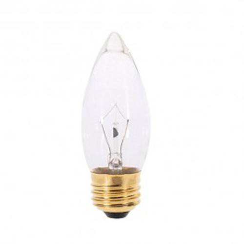 Satco S7010 - 60 Watts - 130V - B11 Incandescent - Medium Base - Frost - CC-2V Filament - 600 Lumens - Dimmable - 25 Packs