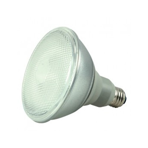 Satco S7203 - 120V - 23W - PAR38 Compact Fluorescent - Medium Base - 1100 Lumens - 5000K Natural Light - 82 CRI - 6 Packs