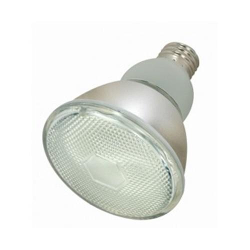 Satco S7206 - 120V - 15W - PAR30 Compact Fluorescent - Medium Base - 700 Lumens - 5000K Natural Light - 82 CRI - 6 Packs