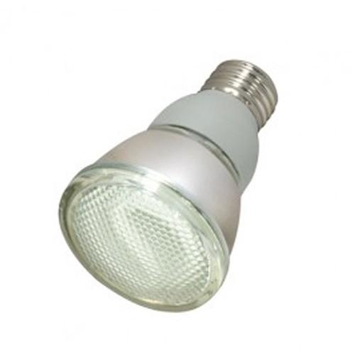 Satco S7421 - 230V - 11W - PAR20 Compact Fluorescent - Medium Base - 380 Lumens - 2700K Warm White - 82 CRI - 6 Packs