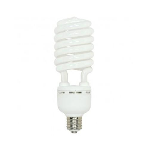 Satco S7415 - 277V - 105W - T5 Hi-Pro Spiral Compact Fluorescent - Mogul Base - 7000 Lumens - 4100K Cool White - 85 CRI - 6 Packs