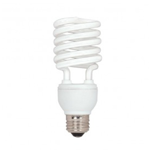 Satco S7414 - 230V - 26W - T2 Mini Spiral Compact Fluorescent - Medium Base - 1750 Lumens - 5000K Natural Light - 82 CRI - 12 Packs