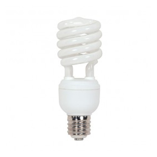 Satco S7430 - 277V - 40W - T4 Hi-Pro Spiral Compact Fluorescent - Mogul Base - 2600 Lumens - 5000K Natural Light - 85 CRI - 12 Packs