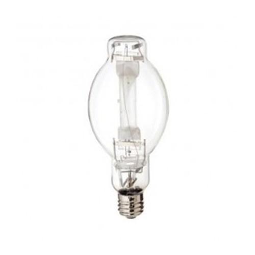 Satco S7618 - 750 Watt - Metal Halide HID - BT37 - Mogul Extended Base - Clear - 76000 Lumens - 4200K Cool White - 65 CRI