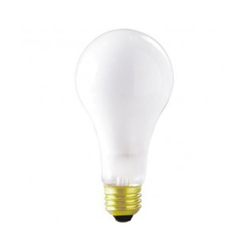 Satco S7800 - 120V - 250W - A21 Incandescent - Medium Base - 3400 Neutral White - Frost - 8700 Lumens - Dimmable - 12 Packs