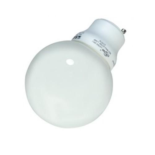 Satco S8221 - 120V - 15W - G25 Compact Fluorescent - GU24 Base - 740 Lumens - 2700K - 82 CRI - 12 Packs