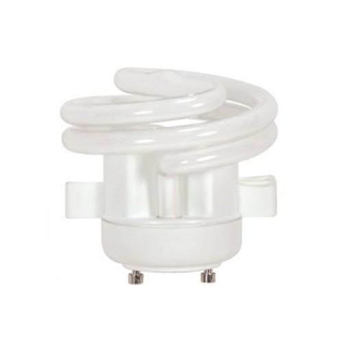 Satco S8228 - 120V - 18W - T2 Mini Spiral Compact Fluorescent - GU24 Base - 1100 Lumens - 2700K - 82 CRI - 12 Packs