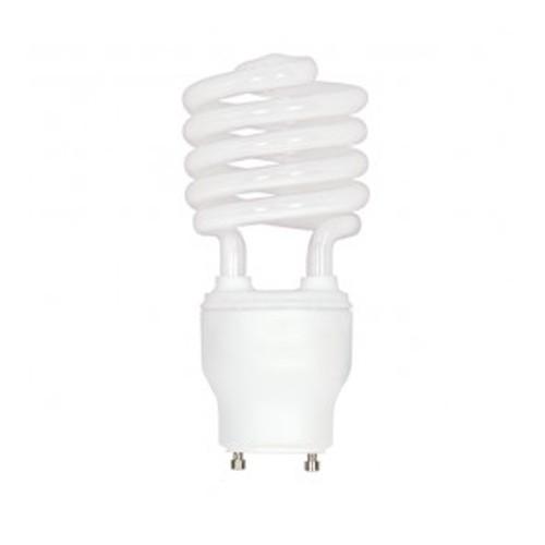 Satco S8232 - 120V - 23W - T2 Mini Spiral Compact Fluorescent - GU24 Base - 1600 Lumens - 3500K - 82 CRI - 12 Packs