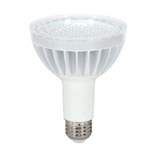 Satco S8947 - 14 Watt - PAR30 Long Neck LED - White - 2700K - Medium Base - 40 Deg. Beam Spread - 120 V - Dimmable - 6 Packs