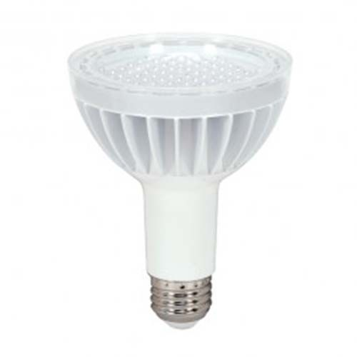 Satco S8949 - 14 Watt - PAR30 Long Neck LED - White - 5000K - Medium Base - 40 Deg. Beam Spread - 120 V - Dimmable - 6 Packs