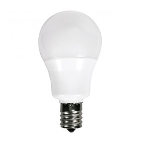 Satco S9067 - 5.5 Watt - A15 LED - Frosted - 4000K Cool White - Intermediate E17 Base - 230 Deg. Beam Spread - 450 Lumens - 120V - 6 Packs