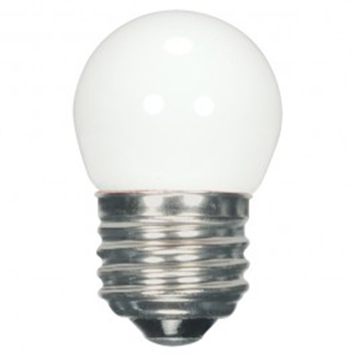 Satco S9161 - 1.2 watt - LED - S11 - White - 2700K - Medium base - 40 Initial Lumens - 120V