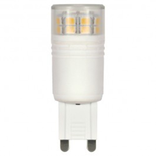Satco S9224 - 3 Watt - T4 Repl. LED - 3000K - G9 base - 360 Deg. Beam Spread - 120V - Dimmable