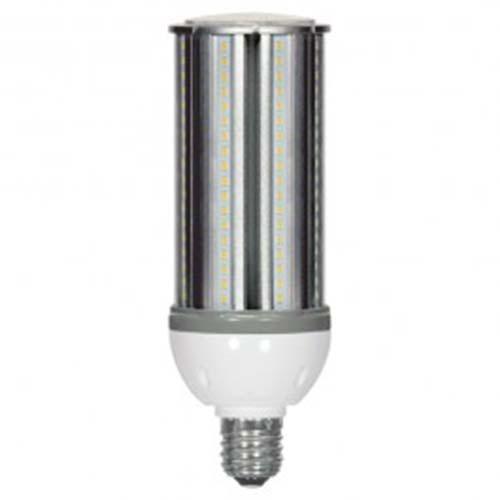 Satco S9354 - 54 Watt - HID Replacement - White - 5000K - Mogul base - 6480 lumens - 100-277V