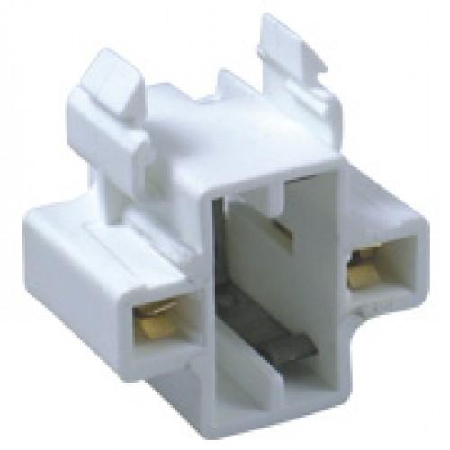 SC-226, 2-Pin CFL 5-13W Horizontal Snap-In Socket - GX23 Base