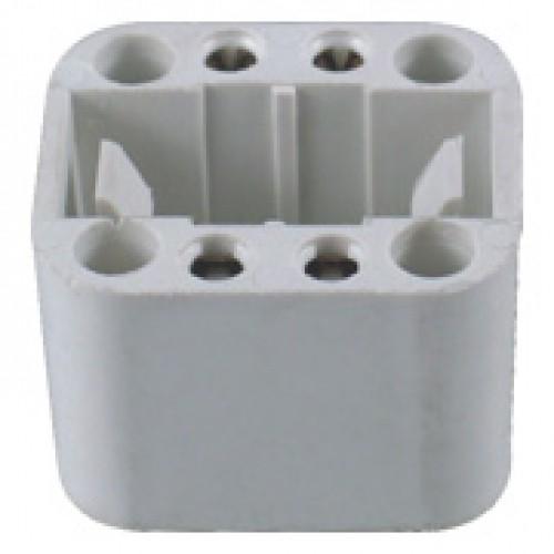 SC-228-3, 4-Pin CFL 10-26W Lampholder for G24q-1, G24q-2, G24q-3 Base