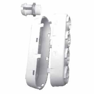 Etlin-Daniels SENPIR-HB-OB - Multi Position Long Offset Bracket for SENIR-HB-01 Occupancy Sensor Switch